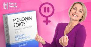 Menomin Forte - pomoc przy menopauzie – forum – czy warto - producent