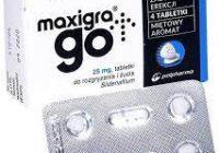Maxigra Go - premium - zamiennik - ulotka - producent