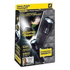 Latarka taktyczna Atomic Beam - zamiennik - producent - ulotka - premium
